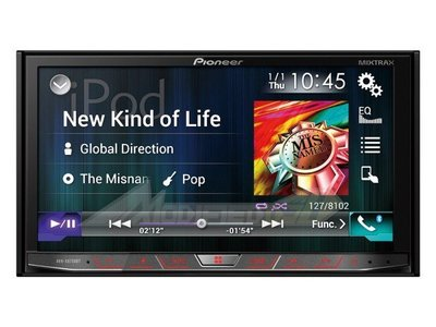 DJD 16 Pi-I0004【Pioneer】AVH-X8850BT Smartphone/DVD/BT車載音響主機