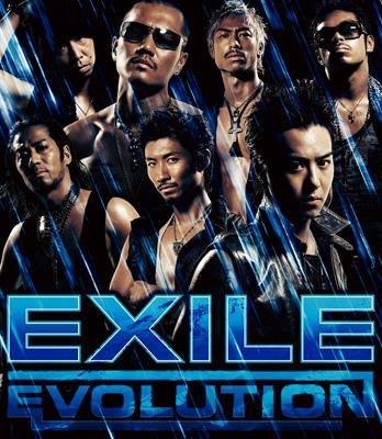 日版初回限定C --- EXILE ( 放浪兄弟 ) ~ EVOLUTION EXILE