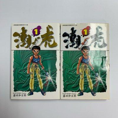 潮與虎(1-33完) 加送多一本 第一期 燙金特別版 (魔偶馬戲團 黑博物館 傀儡馬戲團 作者 藤田和日郎 作品 ) 大然文化1997年出版,留意底部有回書標記