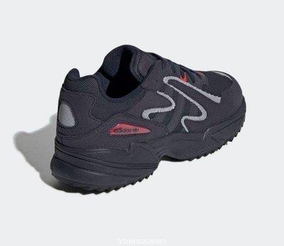 2020 1月 ADIDAS YUNG-96 CHASM TRAIL 海軍藍 深藍色 老爹 黑紅 男 EE7242 休閒慢跑鞋