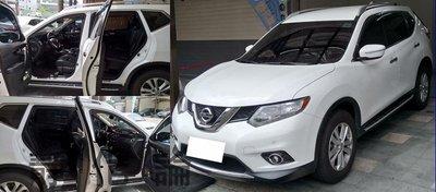 ☆久豆麻鉄☆ Nissan X-Trail 可適用 (四門氣密) 全車隔音套組 汽車隔音條 靜化論 芮卡國際 公司貨