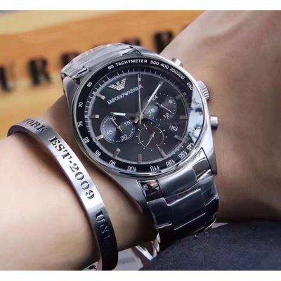全新正品Armani亞曼尼時尚男錶系列AR5980男款石英錶 阿瑪尼手錶 男錶 現貨