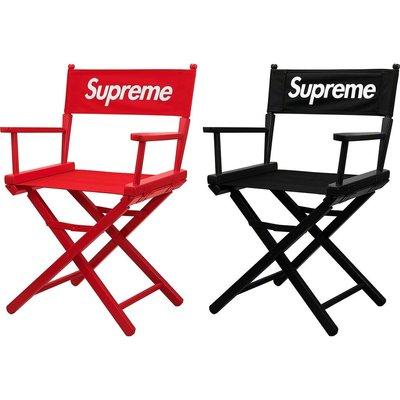 【Hills 台北實體門市】Supreme DIRECTORS CHAIR 導演椅 摺疊椅 椅子 現貨