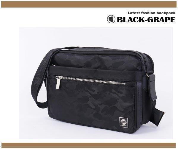 時尚-翻玩迷彩側背包 /斜背包 【S1779】黑葡萄包包