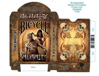 【USPCC 撲克】Bicycle Mummies Playing Cards木乃伊