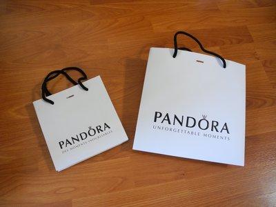 ~☆.•°莎莎~*~~☆~ Pandora 潘朵拉 專櫃紙袋