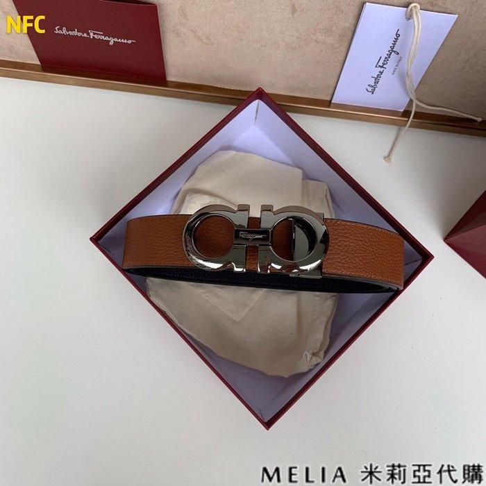 Melia 米莉亞代購 商城特價 數量有限0809 SALVATORE FERRAGAMO 男士款 皮帶 腰帶 (五)