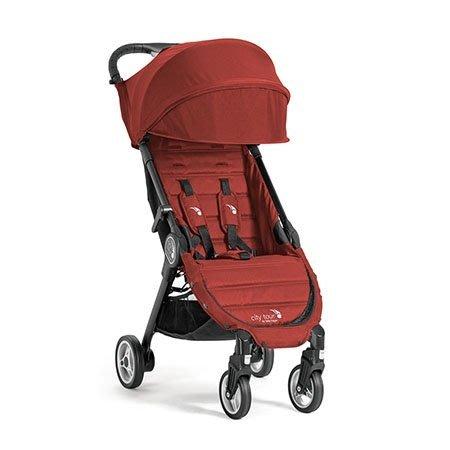 【魔法世界】baby jogger city tour單人手推車(紅) 隨車附贈同色收納袋