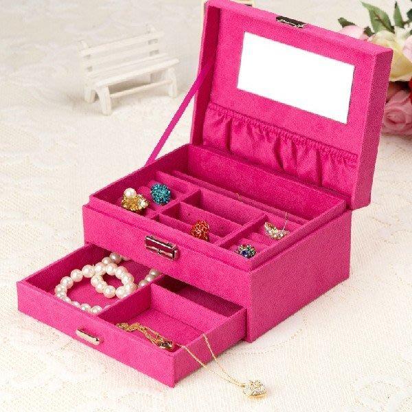5Cgo【鴿樓】會員有優惠 14838153256 韓國首飾收納盒 高檔複古首飾箱珠寶盒 可愛木制飾品盒
