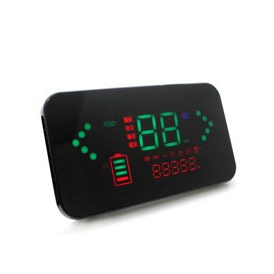 雅朵漫電動車方形小龜王彩色液晶儀表改裝大金牛小牛大疆黑莓LED里程表