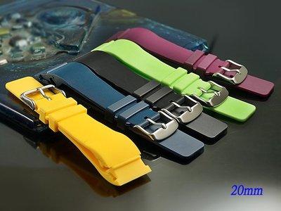 【時間探索】 全新卡地亞 Cartier Santos 100  山度士 代用矽膠錶帶 23mm.20mm 高雄市
