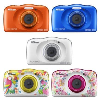 現貨 送16G+副電+原廠包+讀卡機+小腳架 Nikon COOLPIX W150 (公司貨)未稅價