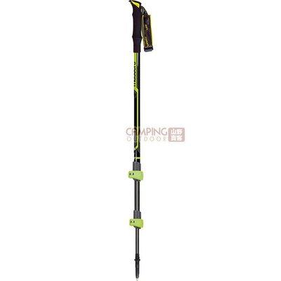 【山野賣客】義大利MASTERS Dolomiti Alu輕量快拆登山杖 MA01S0416 航太級鋁合金 手杖 拐杖