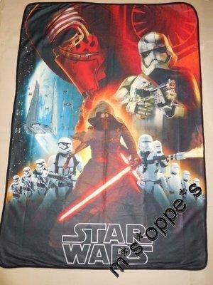 正版 SEGA Star wars 星球大戰 全新 Fleece抓毛 薄毯 薄被 冷氣 景品 (包郵)