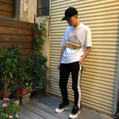 【Faithful】PALACE Plow Mans T-Shirt【PALACE_TEE028】  短TEE 白 灰