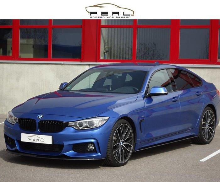 【樂駒】Perl Carbon Design BMW F32 F36 M Paket 前下巴 飾板 碳纖維