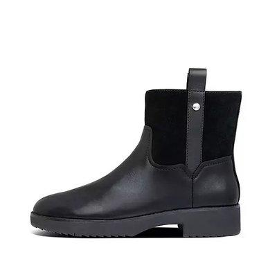 現貨 全新正品 Fitflop SIGNEY Mixte Leather Ankle Boots女靴 US 7