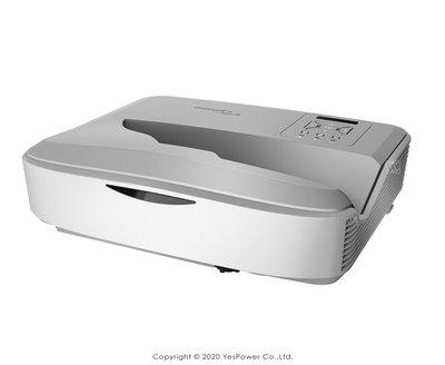 *來電享優惠價*ZH500UST Optoma 5000流明 新世代雷射超短焦投影機 1080p/悅適影音
