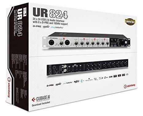 造韻樂器音響- JU-MUSIC - 全新 steinberg UR824 錄音介面 公司貨