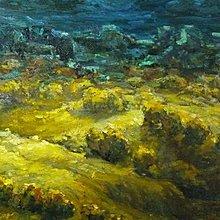 花見小路 224 塗樹根 南投縣名間鄉人 1993 作品大地   油畫原作 60號 最具增值潛力