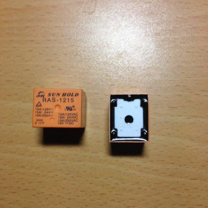 Sun Hold RAS-1215 繼電器 12VDC Relay 5PIN  5腳