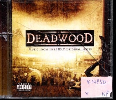 *真音樂* DEADWOOD / MUSIC FROM THE HBO ORIGINAL SERIES 二手 K14850 (左殼切痕)