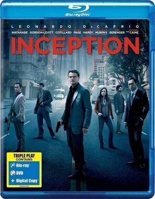 【藍光電影】全面啟動 / 盜夢空間 / Inception (2010)