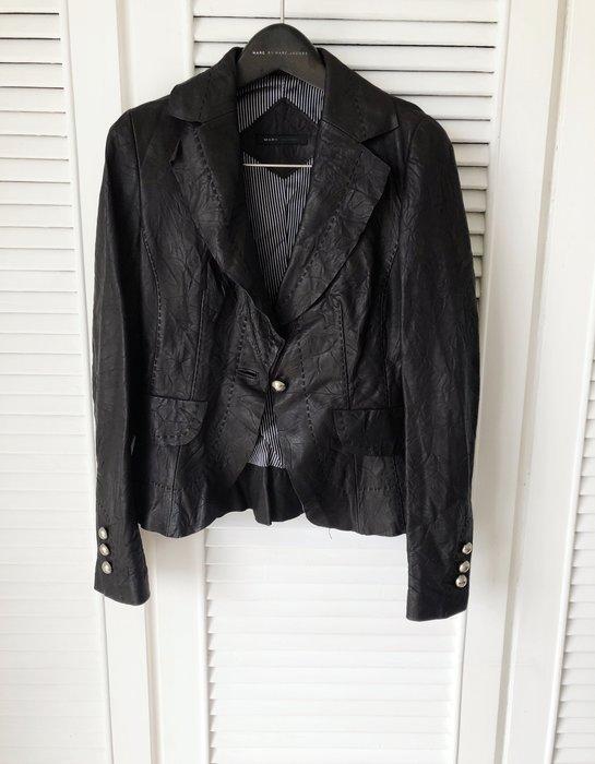 原價七萬多 Marc Jacobs 👸公主風深棕小羊皮皮衣