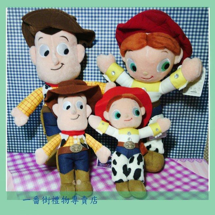 一番街禮物專賣店*日本帶回*玩具總動員-只賣超可愛胡迪警長大娃娃~單隻價~生日禮物