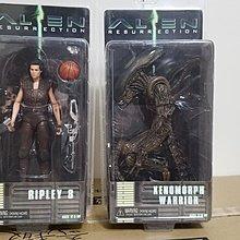全新正版NECA Alien 4 異形 女主角 兩款一對賣 1/12 Action Figure