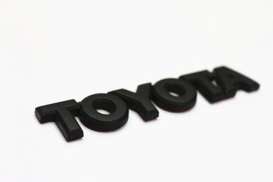 豐田TOYOTA 86 GT86 Scion FRS FR-S TOYOTA車標(霧黑色)