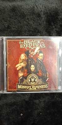 The Black Eyed Peas - Monkey Business 黑眼豆豆 - 2005年版 - 201元起標