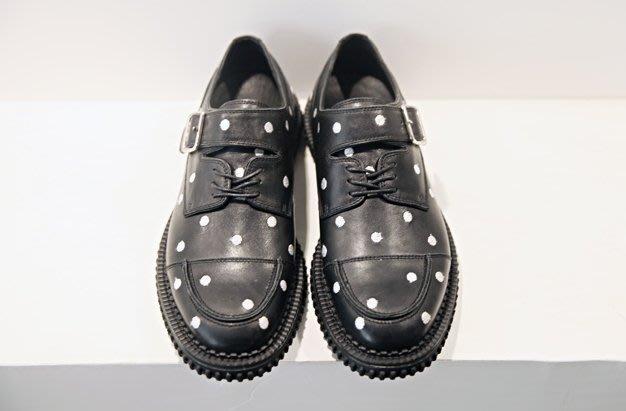 【JP.美日韓】歐美 高端 增高鞋  厚底鞋 波點 設計 超級 棒 牛皮 真皮系列  高端男 皮鞋 馬丁