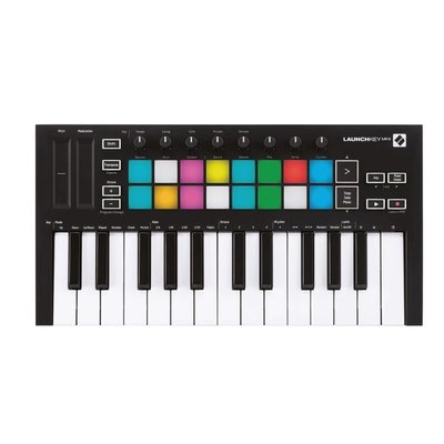 [DigiLog] 全新 Novation Launchkey Mini MK3 25鍵 MIDI 鍵盤 一年保固