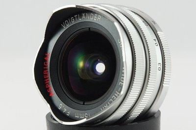 **日光銀鹽** Voigtlander 15mm F4.5 Super Wide-Heliar L39