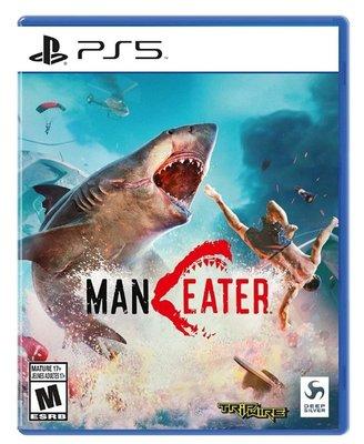 PS5 食人鯊 中文版  預購12/24上市