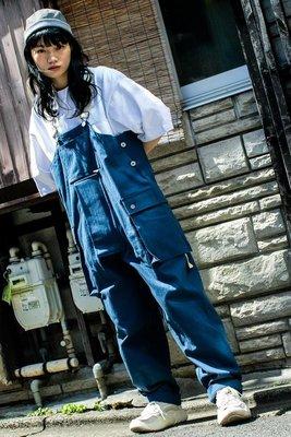 asusl SS21 MULTI POCKET DUNGAREES 多口袋吊帶工裝褲 黑/軍綠/洗水藍 3色