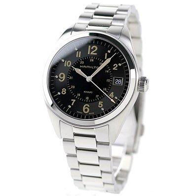 HAMILTON H68551133 漢米爾頓 手錶 40mm FIELD QUARTZ 鋼錶帶 男錶女錶