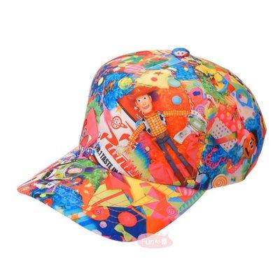 日本迪士尼 玩具總動員 熊抱哥 三眼怪 胡迪 棒球帽帽子Sebastian Masuda 。現貨【Fun心購】