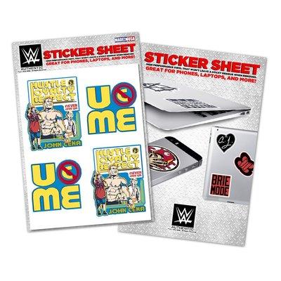 [美國瘋潮]正版WWE John Cena Throwback Vinyl Sticker 嘻哈回歸經典款圖案貼紙特價中