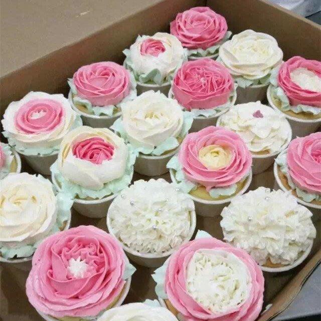 Amy焙網:多款任選/大號耐高溫淋模卷口杯/杯子蛋糕淋模紙杯100入/不需模具可直接進烤箱