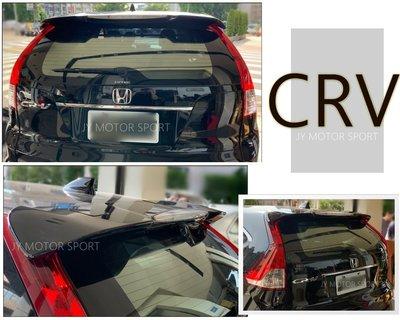 小傑車燈精品--全新 HONDA NEW CRV 四代 4代 原廠型 尾翼 價格含烤漆 材質ABS