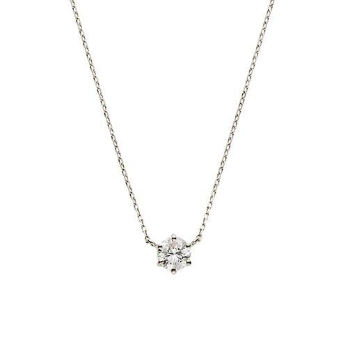 【日本代購】小店主的購物小店:VA 項鍊 VI(ヴイアイ) ダイヤモンド一石ネックレス GPAN007440DI