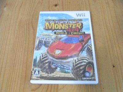【小蕙館】Wii ~ 怪獸4X4卡車大賽 (純日版)