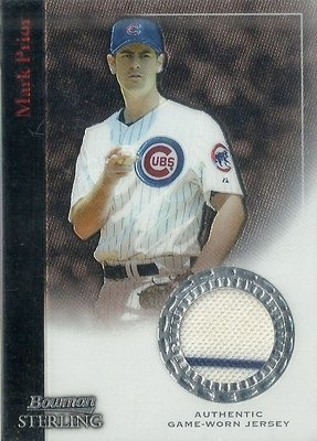 2004 BOWMAN STERLING MARK PRIOR 2色球衣卡 BS-MP 小熊隊
