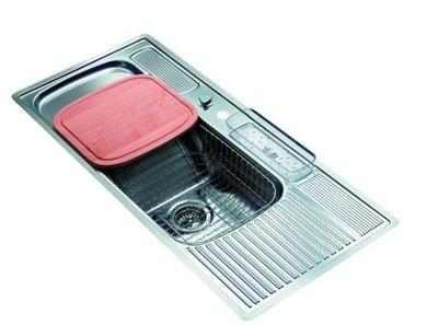 歐雅系統家具 系統廚具 全室規劃【REGINOX-L-110-50荷蘭皇冠水槽】