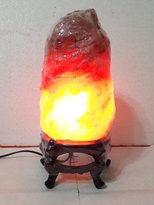 【九龍藝品】鹽   燈 ~ 重量約5kg【E】