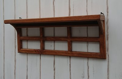 zakka糖果臘腸鄉村雜貨坊      木作類..Evella 窗格壁架(道具架盆栽架娃娃架窗簾架玄關架開店用品櫥窗展示