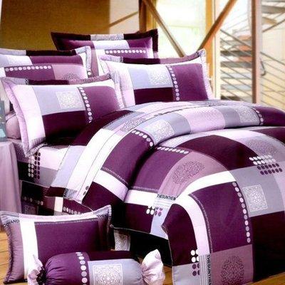 特大雙人被套8x7尺100%精梳棉-夢幻格調-台灣製 Homian 賀眠寢飾
