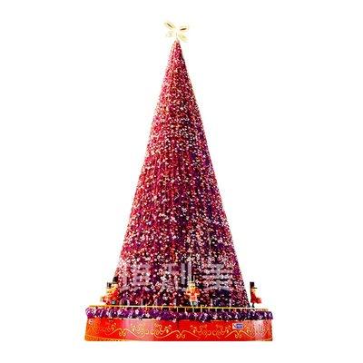 琪利美大型聖誕樹裝飾套餐戶外框架樹5米6米8米10米12米商業布置